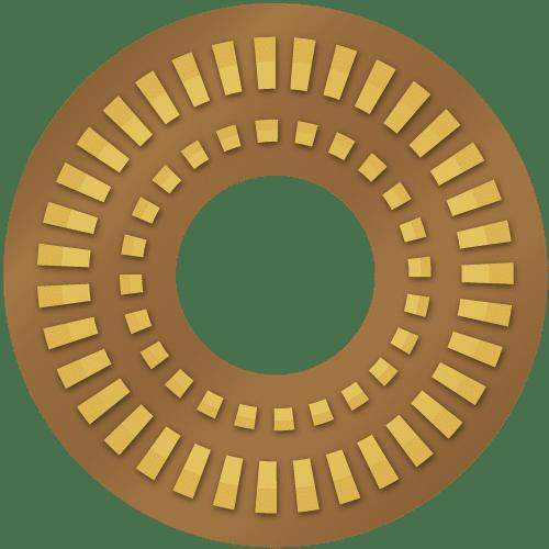 岡山市 剣道 武道具さかい 鍔(つば)の種類 革鍔