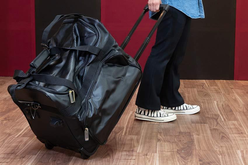 岡山市 剣道 武道具さかい 袋 防具袋の種類 キャリーバッグ型
