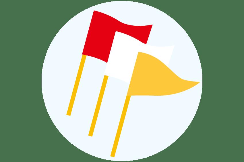 岡山市 剣道 武道具さかい 試合用品 試合用品の種類 審判旗