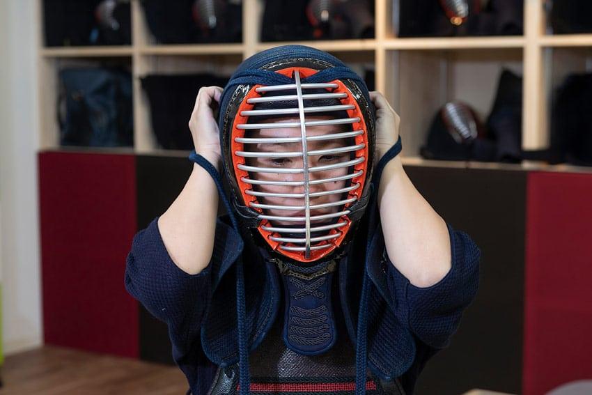 岡山市 剣道 武道具さかい 防具 面がフィットしていないと感じた時