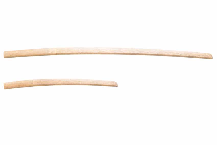 岡山市 剣道 武道具さかい 木刀の種類 白樫